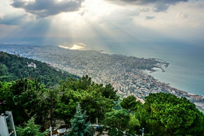 Harissa unsere Dame vom Libanon 04 stockfotografie