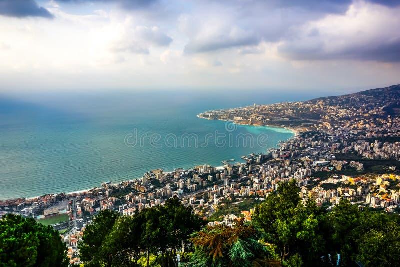 Harissa unsere Dame vom Libanon 07 lizenzfreie stockbilder