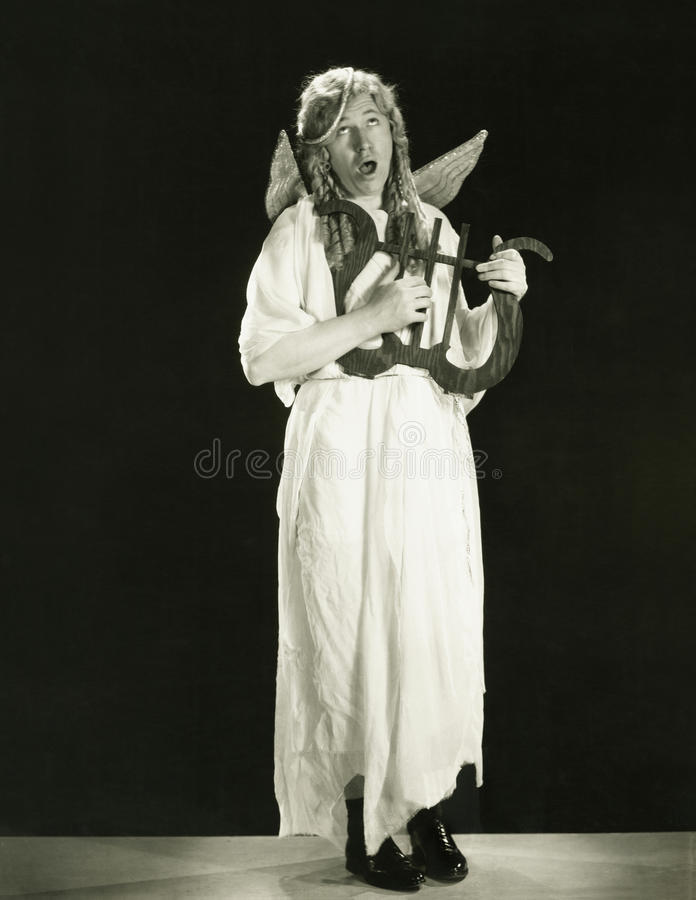 Hark the herald angel sings stock photos