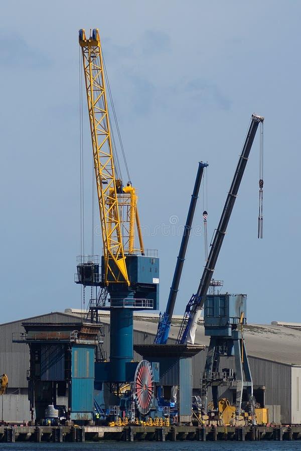 Harland y Wolff Heavy Industries, Belfast, Irlanda del Norte imagen de archivo libre de regalías