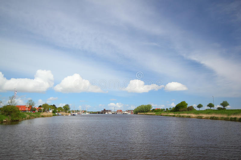 Download Harle stock photo. Image of wittmund, siel, water, river - 38795086