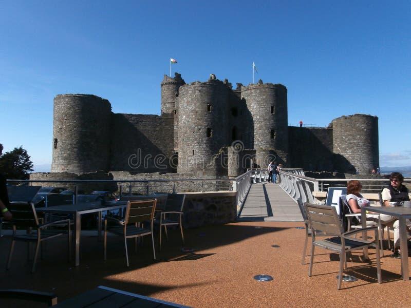 Harlech Castle στοκ εικόνες