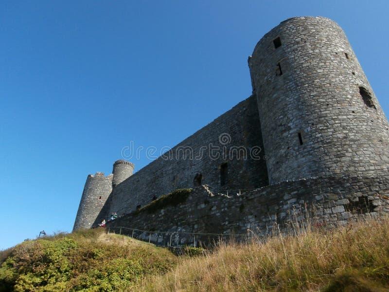 Harlech Castle στοκ εικόνα με δικαίωμα ελεύθερης χρήσης