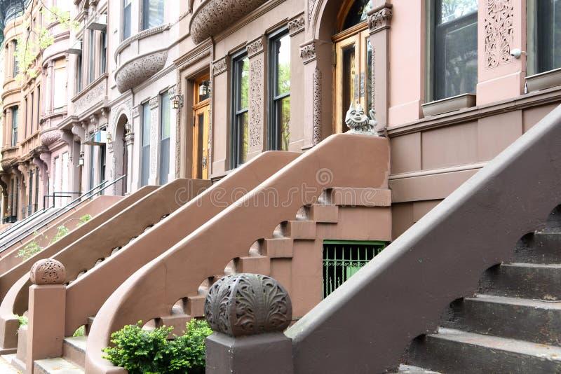 Harlem ad ovest, New York fotografie stock libere da diritti