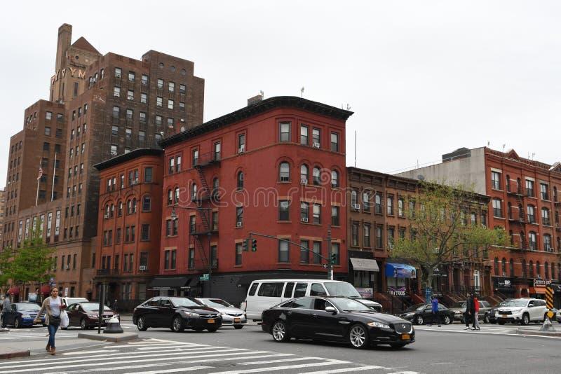 Harlem ad ovest, New York immagini stock libere da diritti