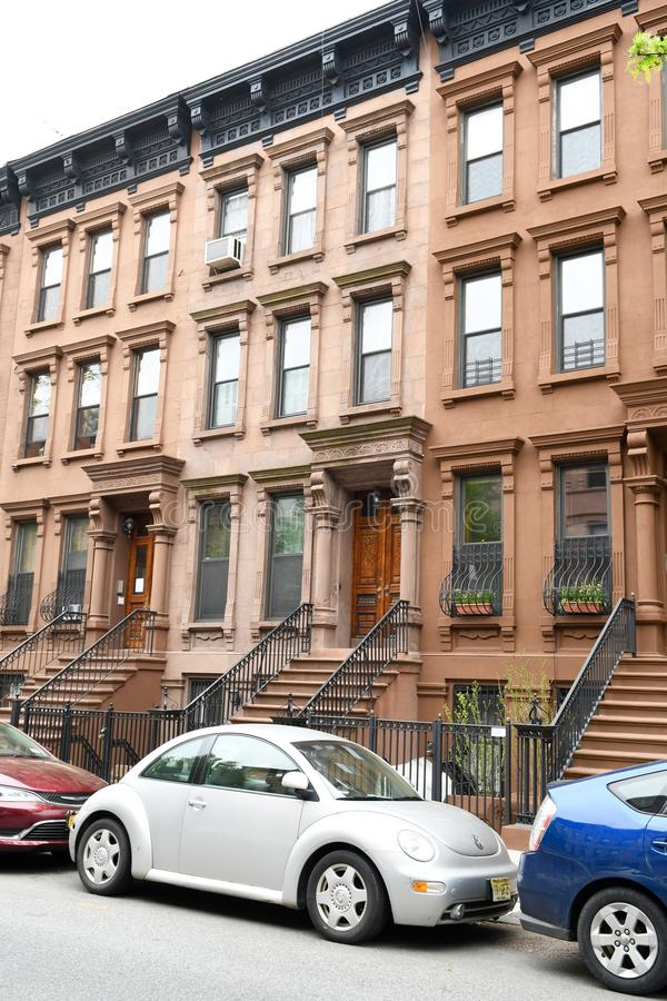 Harlem ad ovest, New York fotografie stock