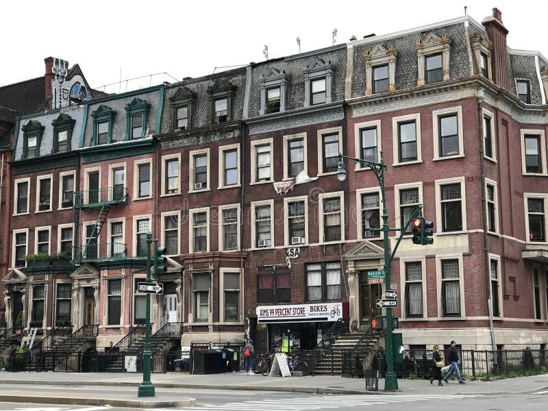 Harlem ad ovest, New York fotografia stock