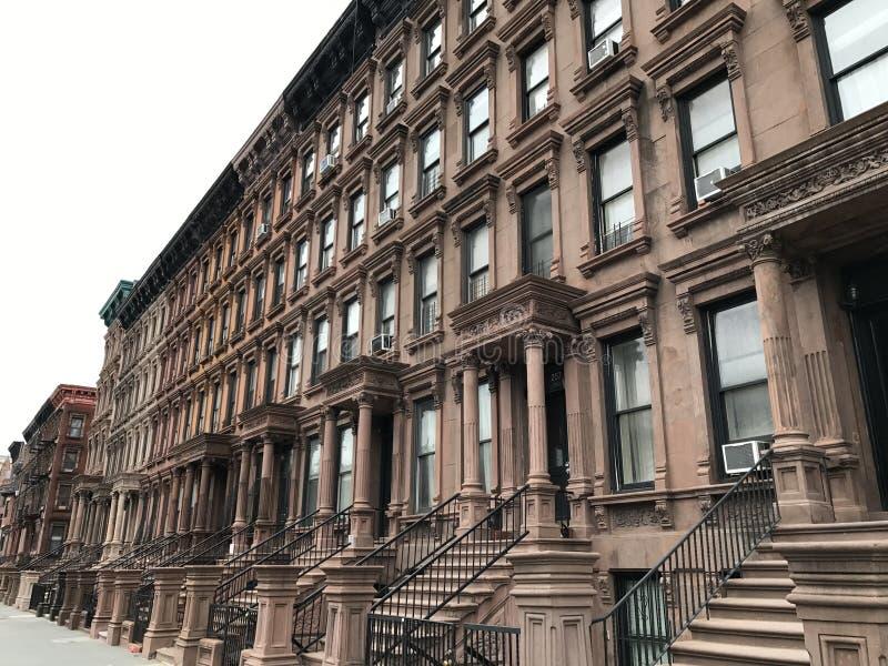 Harlem del oeste, New York City imagen de archivo