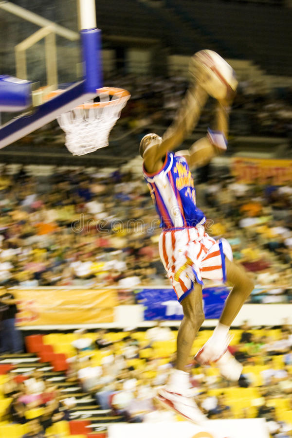 Download Harlem Globetrotters Basketball Action (Blurred) Editorial Stock Image - Image: 9455429