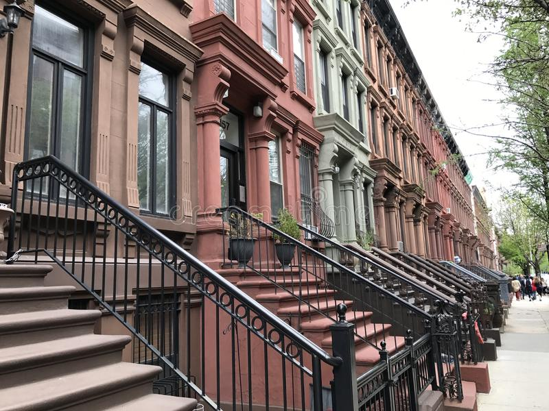 Harlem ocidental, New York City foto de stock