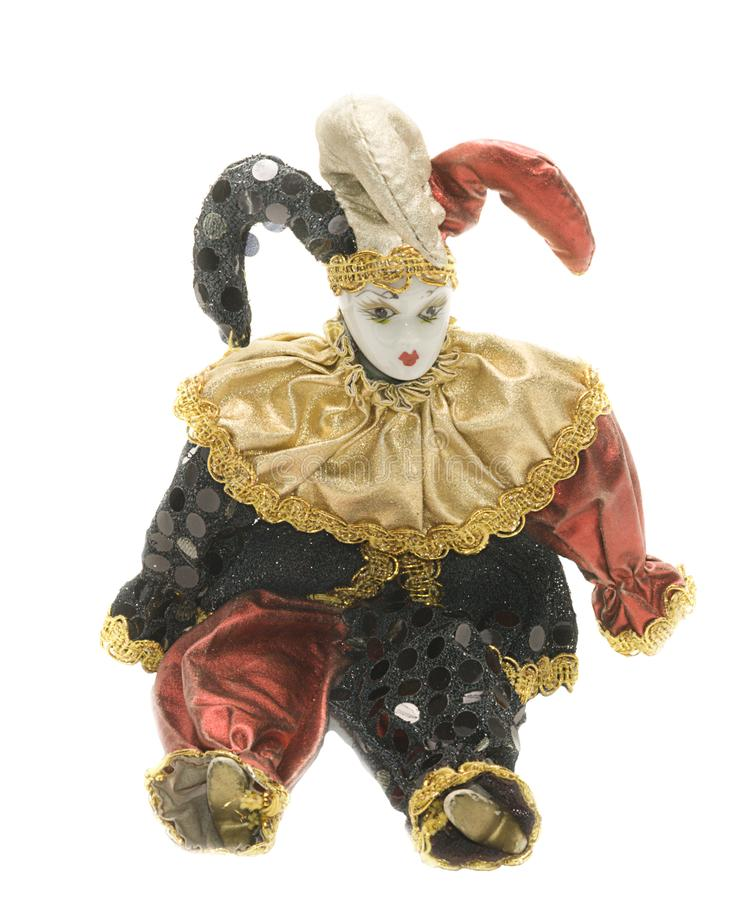 Download Harlequin doll stock image. Image of theater, painted - 8513771