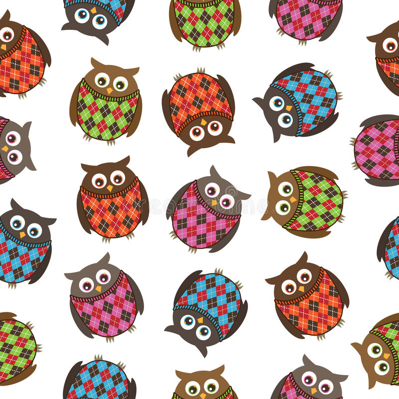Download Harlequin Owls Royalty Free Stock Images - Image: 13940809