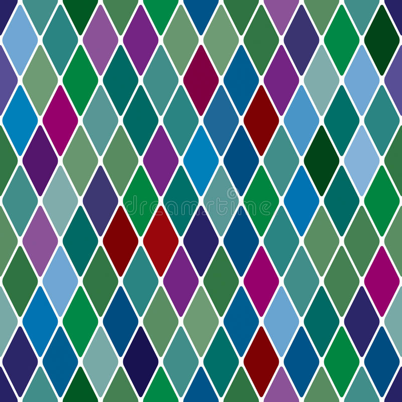 Download Harlequine Esmerald Seamless Pattern Stock Vector - Image: 18087633