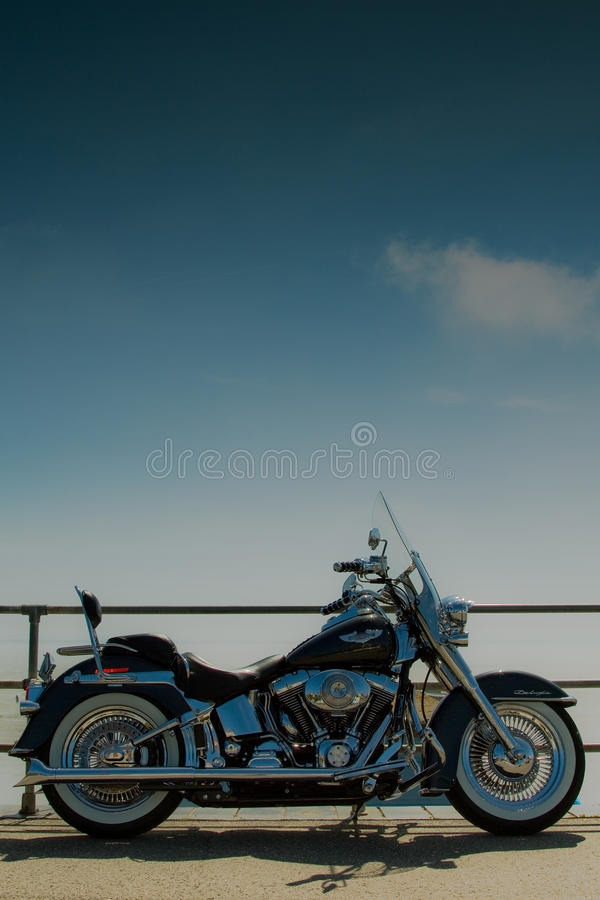 Harley. Editorial Stock Image of a Harley Davidson Motor Cycle