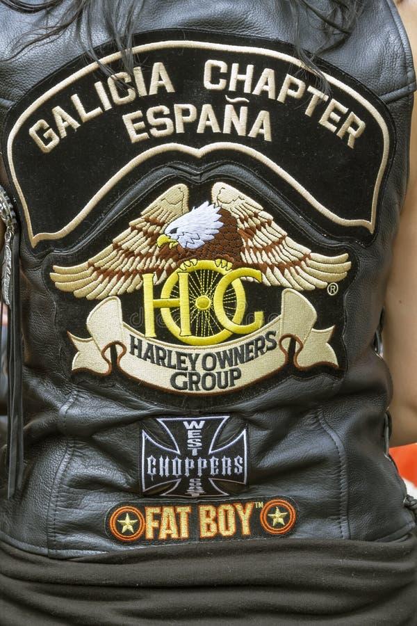 harley 2012 дней barcelona стоковые фотографии rf