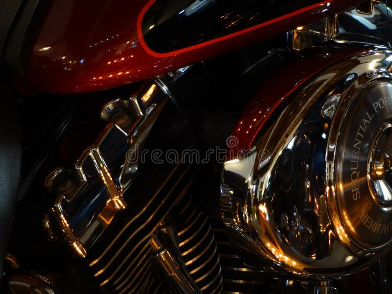 Harley Davidson photographie stock