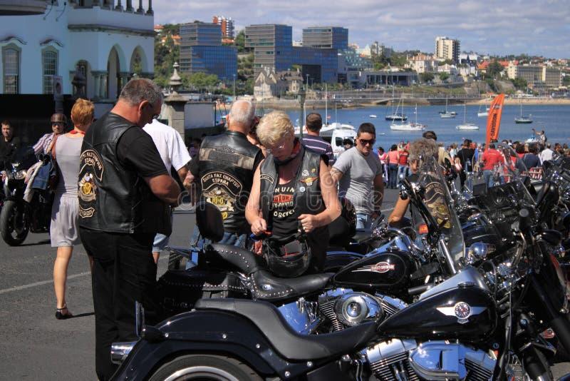 Harley-Davidson fotografie stock libere da diritti