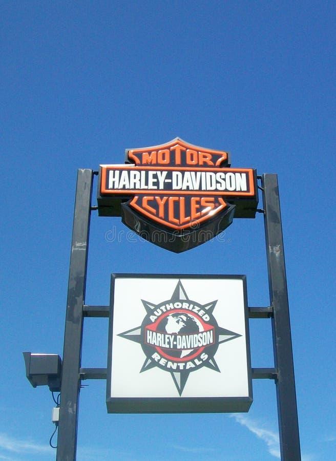 Harley-Davidson lizenzfreies stockbild