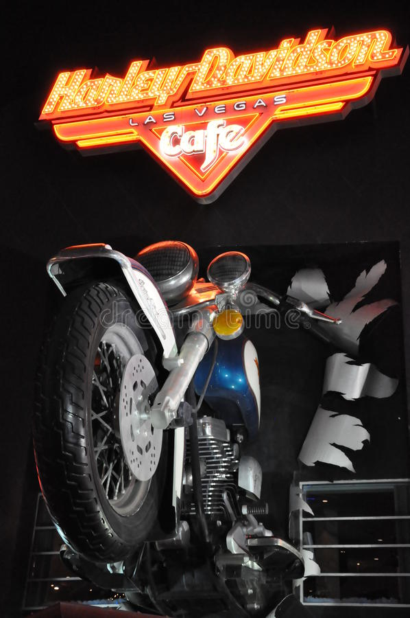 Download Harley Davidson Cafe In Las Vegas Editorial Image - Image: 34226550