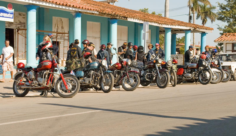 Harley davidson club royalty free stock images
