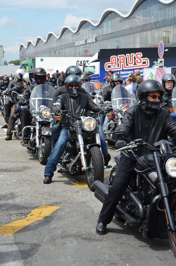 Harley Davidson Days a Amburgo, Germania immagini stock