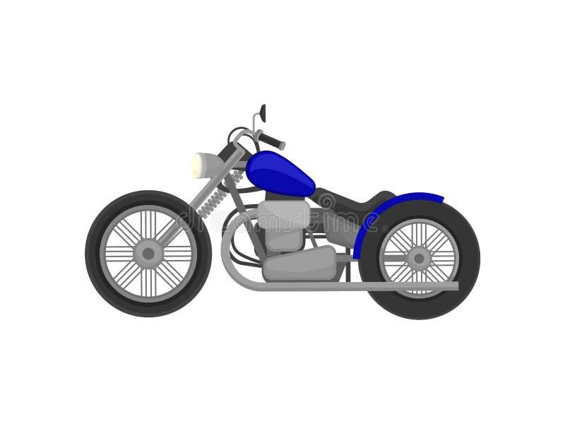 Harley davidson de la moto Ilustraci?n del vector en el fondo blanco ilustración del vector