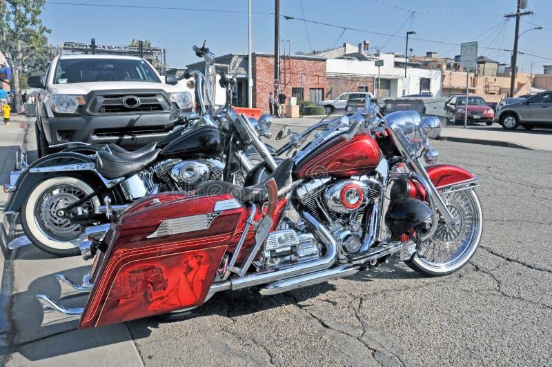 Harley-Davidson Deluxe stock foto's