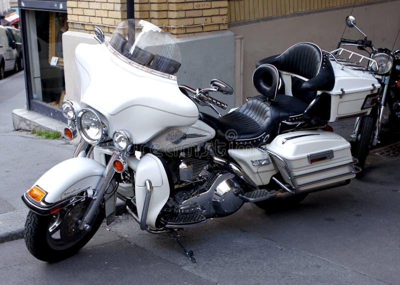 Harley Davidson Electra Glide fotografía de archivo libre de regalías