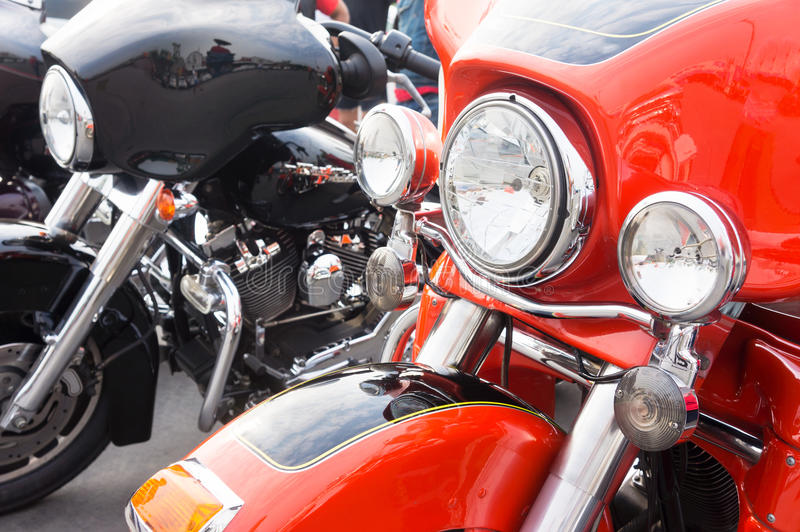 Harley davidson. Electra glide classic motocycle stock images