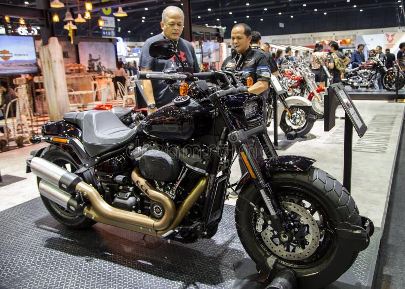 Harley Davidson Fat Bob 2018 imagem de stock