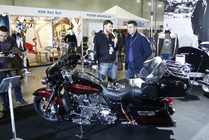 Harley-Davidson FLHTCUSE 6 ultra Klassieke CVO stock afbeeldingen