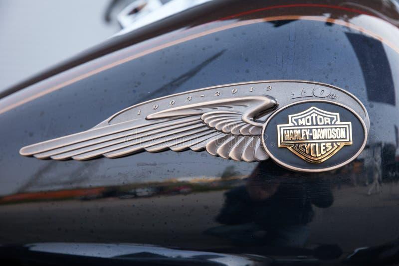 Harley Davidson logo stock image
