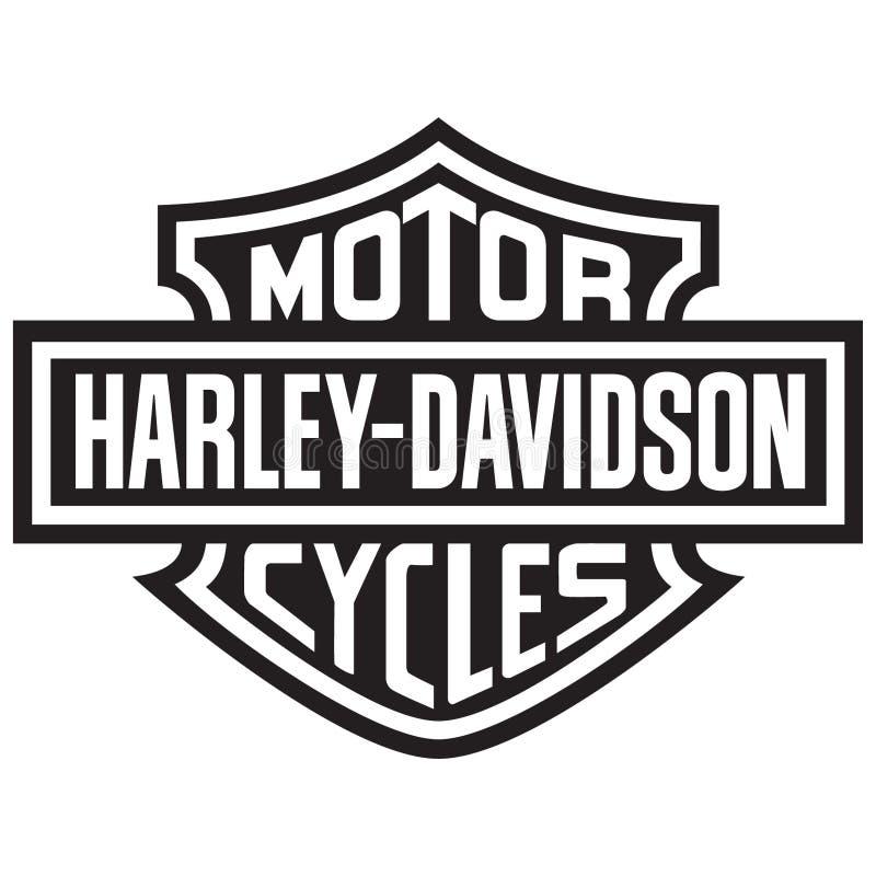 Free Harley Davidson Logo Vector Illustration On White Background Royalty Free Stock Image - 184786296