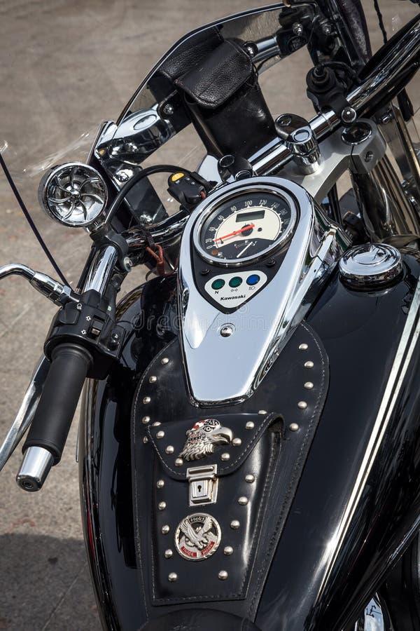 Harley Davidson motocykli/lów szczegóły zdjęcie stock
