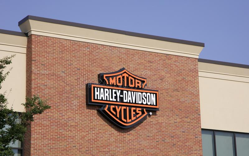 Harley Davidson Motor Cycles photographie stock libre de droits