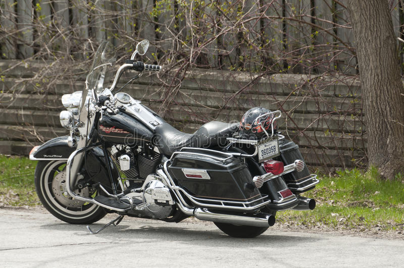 Harley-Davidson motorcycle royalty free stock photography
