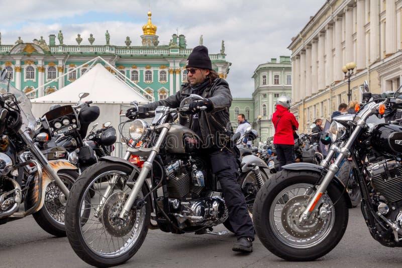 Harley-Davidson Motorcycle Festival - motard et moto photos stock