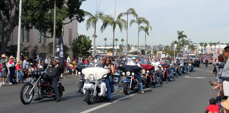 Harley-Davidson Motorcycle Riders Editorial Stock Image