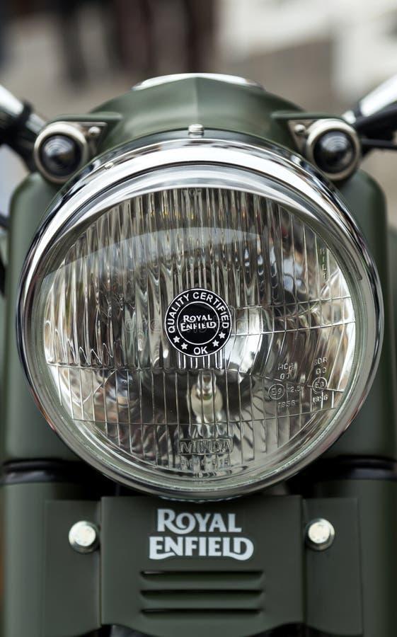 Harley Davidson motorcycles details royalty free stock image