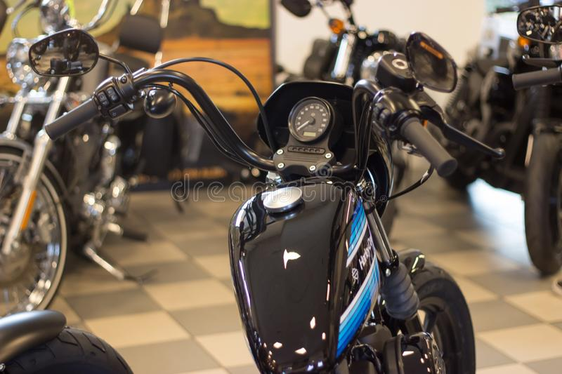 Harley Davidson `Open House Event` in Italy: Sportster Model stock image