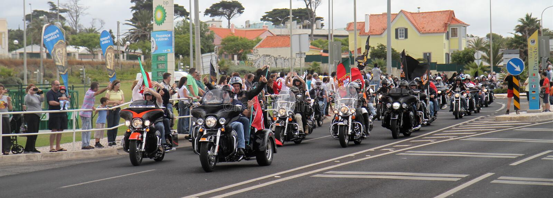 Harley Davidson Parade Editorial Stock Photo