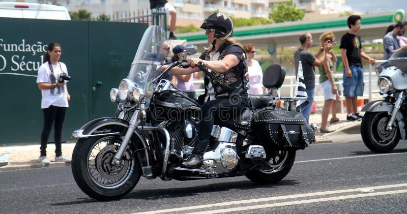 Harley Davidson Parade Editorial Photo