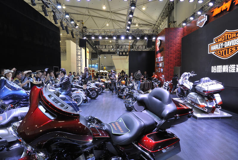 Harley-davidson pavilion royalty free stock image