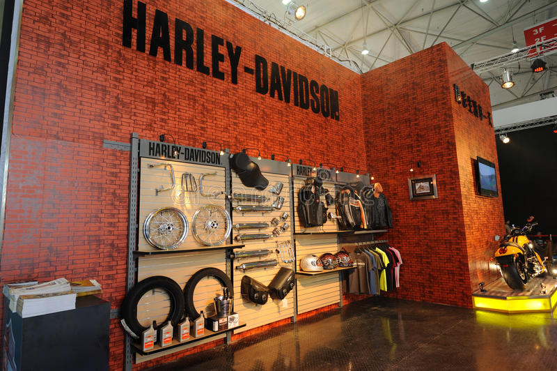 Harley davidson pavilion royalty free stock photography