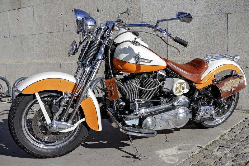 Harley Davidson personalizou fotos de stock royalty free