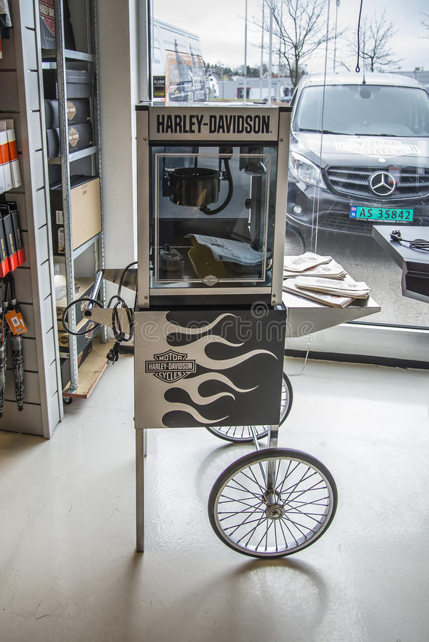 Free Harley-Davidson, Popcorn Machine Royalty Free Stock Photo - 39178605