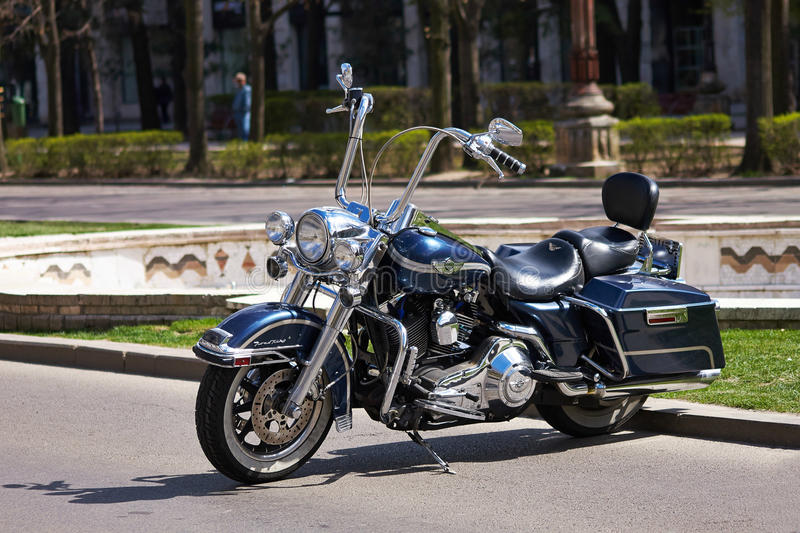 Harley-Davidson Road King royalty free stock photo