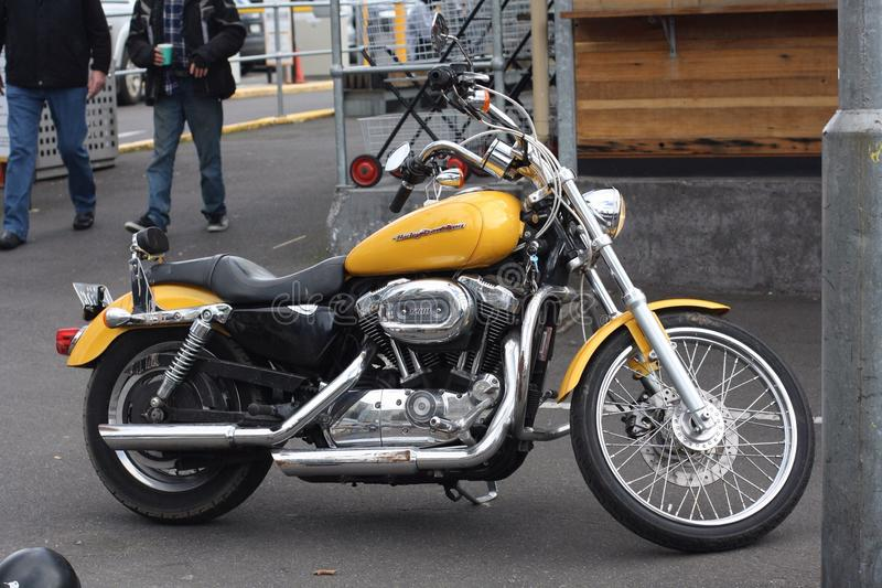Harley Davidson rower fotografia stock
