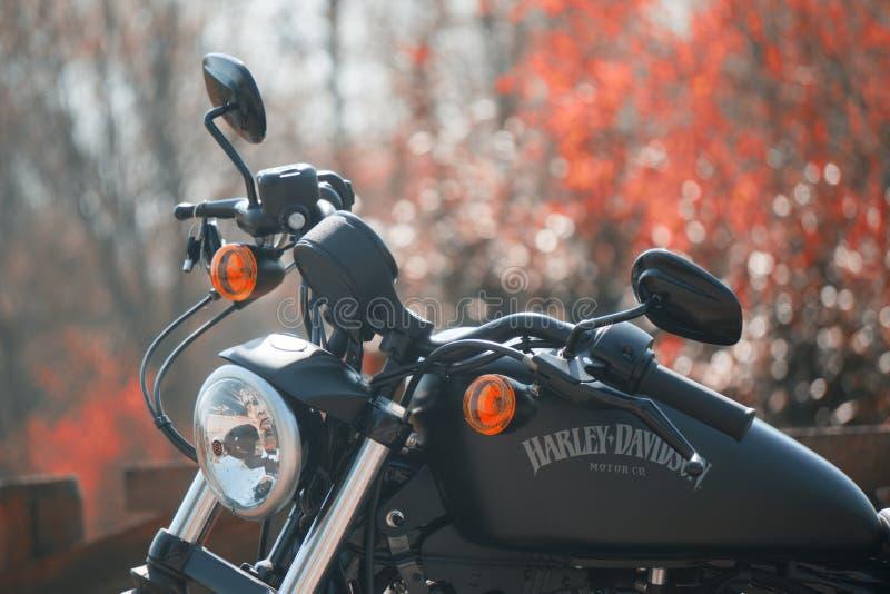 Harley Davidson sportster στοκ φωτογραφία