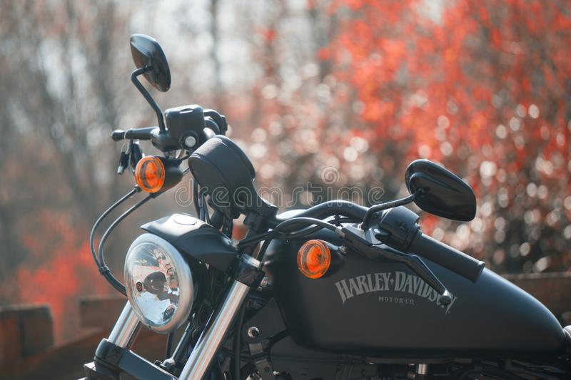 Harley Davidson Sportster. Take a free ride stock photography